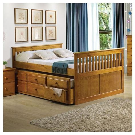 atlas youth honey oak bed modern beds other metro