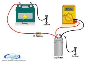 Lighting Cap For Car Audio How To Charge A Capacitor Learning Center Sonic Electronix