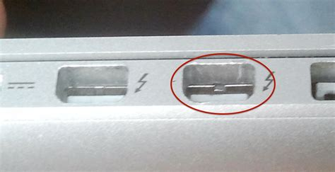 what is a thunderbolt port hardware dislocated metal plate in thunderbolt port
