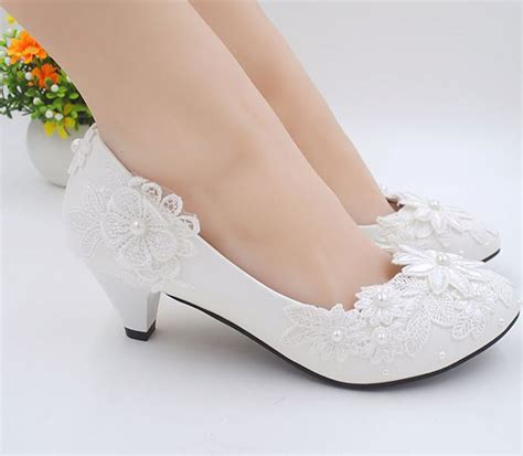 2 Inch Wedding Shoes by Popular 2 Inch Ivory Wedding Shoes Buy Cheap 2 Inch Ivory