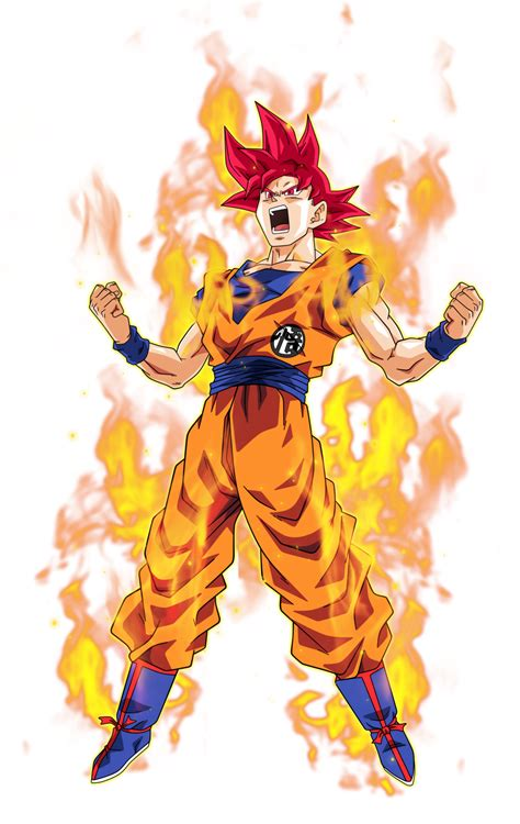 imagenes de goku ultra dios goku super saiyajin dios pinteres