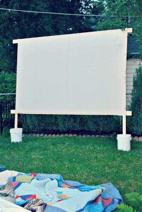 backyard movie screen diy backyard ideas for kids simplykierste com