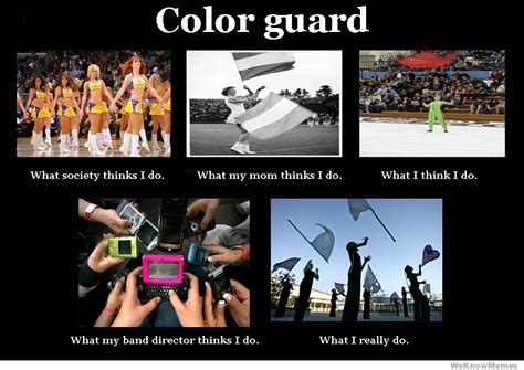 Color Guard Memes - color guard meme band and guard pinterest