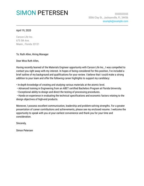 Cover Letter Samples - Find your Industry!