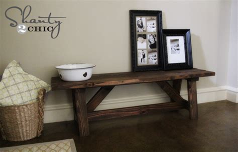 diy entrance bench diy bench for the entryway 15 entry ways rustic