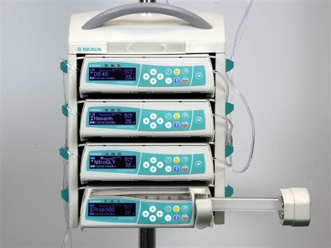 scow pump b braun space infusion pump iv infusion model information
