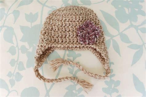 pattern crochet baby hat alli crafts earflap hat newborn pattern updated