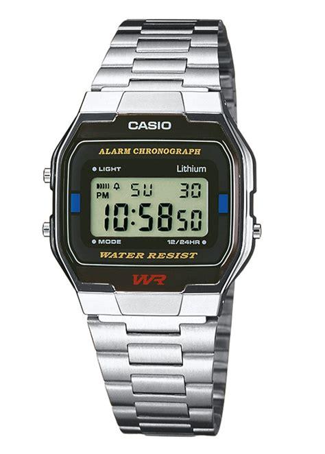 casio classic digital vintage retro lcd unisex wr bracelet