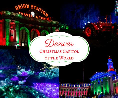 the bright history of christmas lights in denver colorado