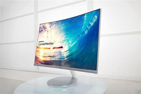 Monitor Curved samsung s new curved monitor series can handle freesync an hdmi connection read all