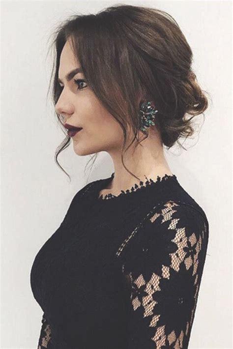 party hairstyles for neck length hair acconciature per capodanno 2018 per capelli lunghi medi e