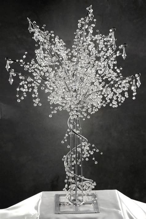 winter wedding tree centerpieces beautiful winter wedding theme ideas ewedding