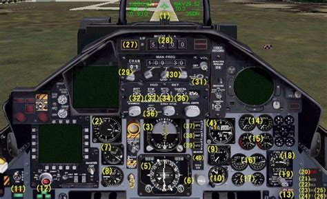 F-15J Package for FSX F 15 Cockpit