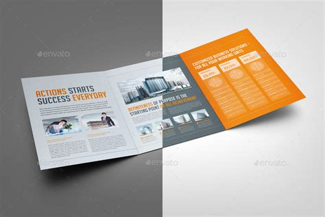 business trifold brochure by mikinger graphicriver