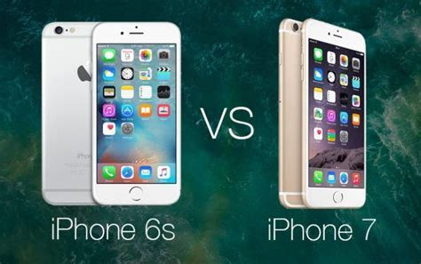 iphone 7 vs iphone 6s comparativa
