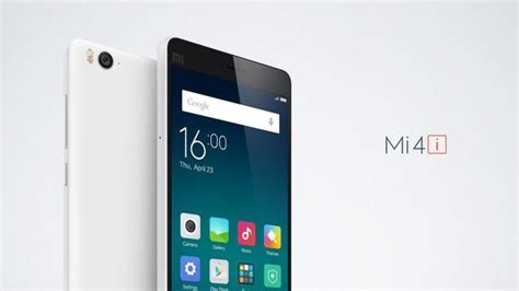 tutorial xiaomi mi 4i xiaomi brings out the lighter mi 4i with 13mp rear