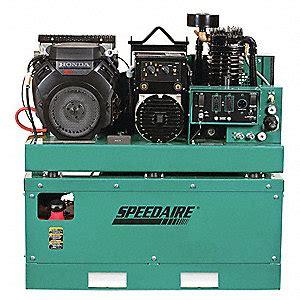 speedaire  gal stationary air compressorgenerator