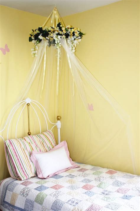 diy girls bed diy over the bed canopy google search cate net