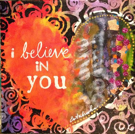 i you i believe in you donna estabrooks