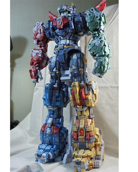 Voltron Papercraft - papercraft quot zoid voltron quot on behance