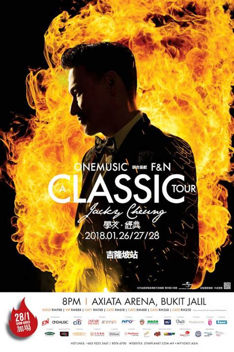 jacky cheung new year jacky cheung adds new date to malaysia concert