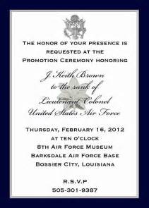 custom listing j k brown military promotion invitations