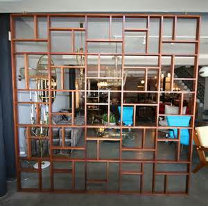 midcentury geometric room divider at 1stdibs