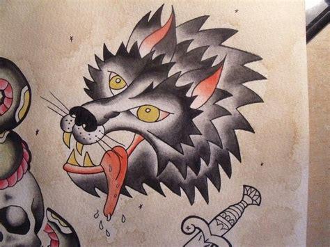 tattoo flash wolf wolf tattoo flash tattoo pinterest