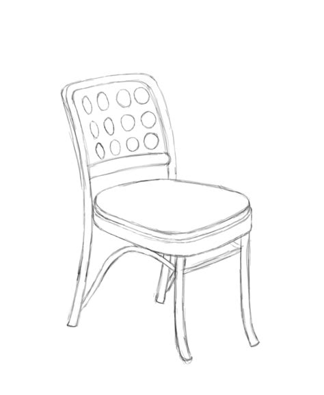 Sketch Sofa Chair by Chair Sketch By Hamstap85 On Deviantart