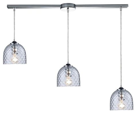 multi pendant lighting kitchen elk group international three light polished chrome multi
