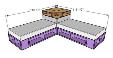 twin storage bed plans twin storage bed plans bed plans diy blueprints