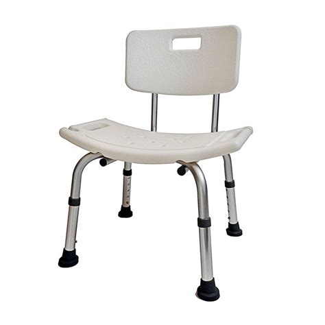 shower chair with backrest shower chair adjustable height with angles legs and