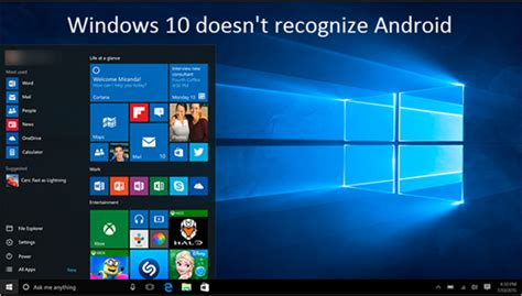 why doesnt my new iphone have the app store fixed problem windows 10 doesn t recognize android devices
