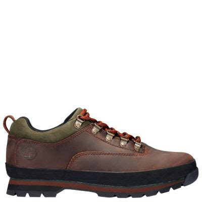 men's leather euro hiker shoes | timberland us store