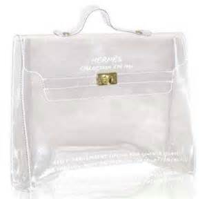 Jelly Bag Birkin Mini Transparant bag beggar the hermes clear bag