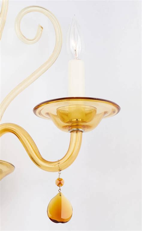 Glass Wall Sconce Murano Glass Wall Sconce For Sale At 1stdibs