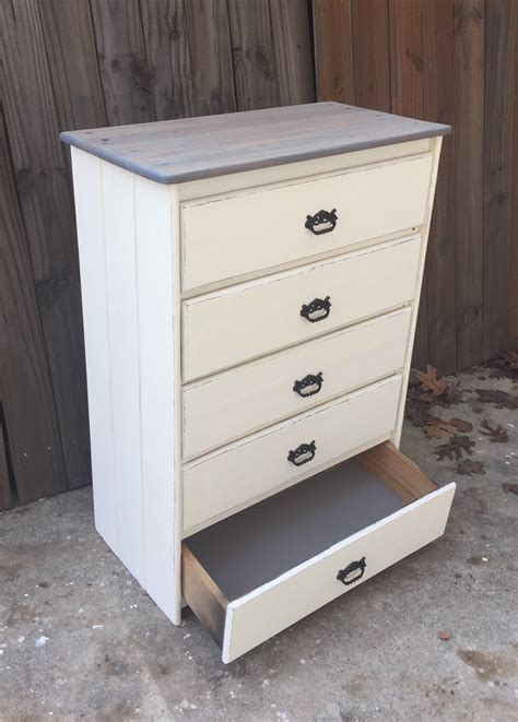 antique white distressed chest of drawers distressed antique white vintage chest of drawers