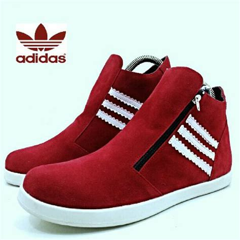 Sepatu Adidas Boots Sneakers sepatu casual wanita sneakers ori simple lace up flat it s