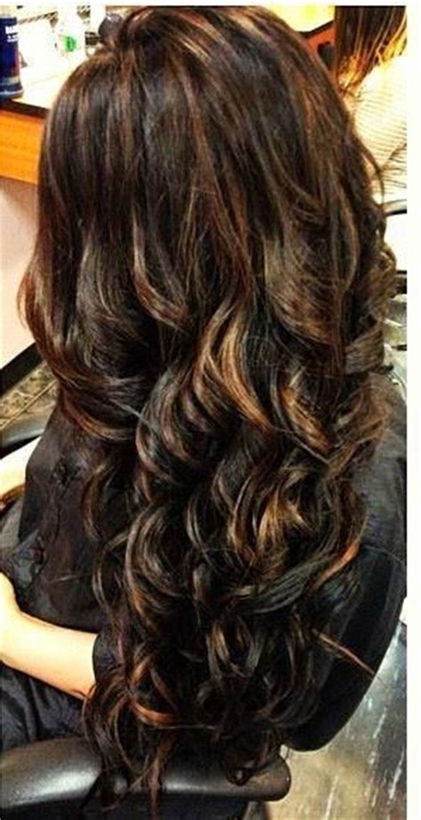 hair color with highlights and lowlights for black women short chunky layered reddish copper brown hair with red