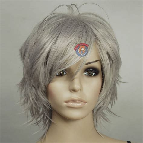 shagy short with silver highlights haistyles shag haircuts for grey hair google search haircuts