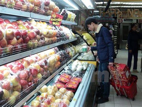 Rok Import Ho s fruit imports from rok surge trade