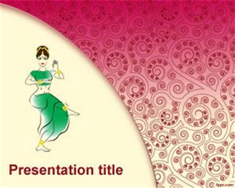 arabic powerpoint template dancers powerpoint template