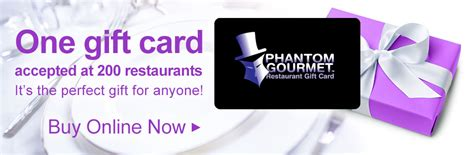 Phantom Gourmet Gift Card Restaurants - the phantom gourmet restaurant gift card