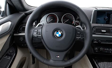 bmw m steering wheel car and driver