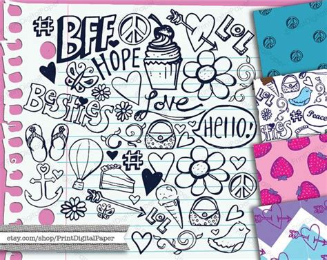 girly doodle wallpaper 48 best images about girly doodle notebook on pinterest