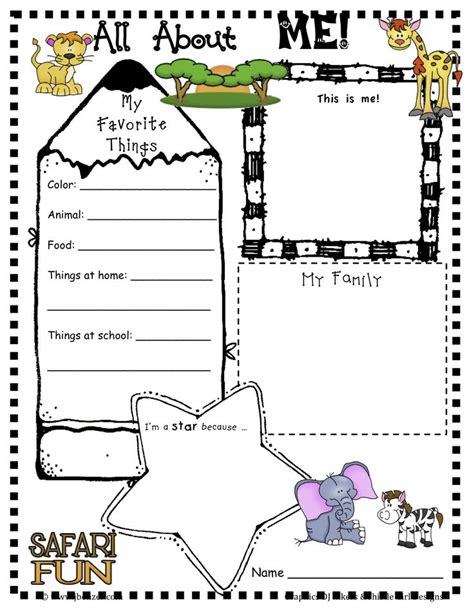 mi themes language 137 best preschool all about me images on pinterest