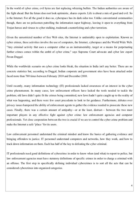 Cyber Crimes Against Essay by Cybercrime In India Essay Docoments Ojazlink