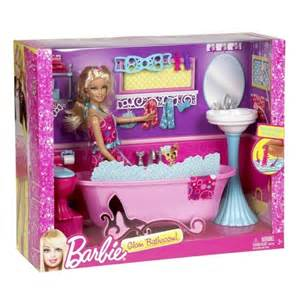 glam bathroom furniture and doll set bathtub sink