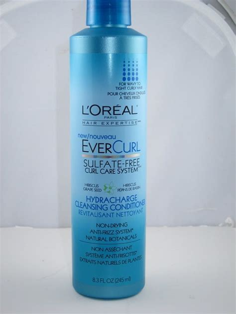 Conditioner Loreal l oreal evercurl hydracharge cleansing conditioner review