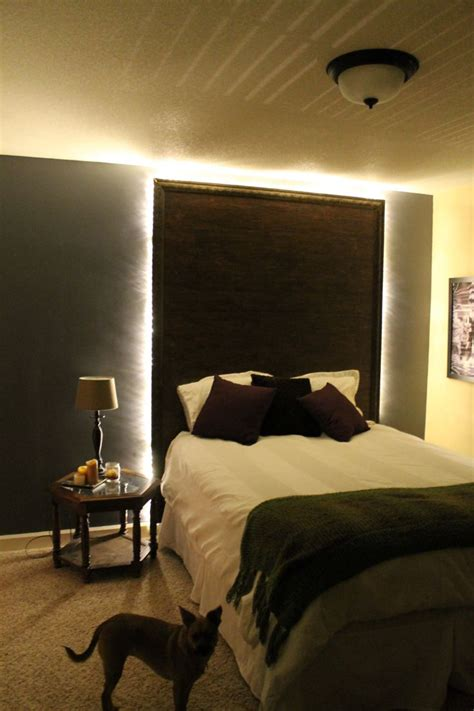 backlit headboard 22 best images about headboard ideas on pinterest rustic